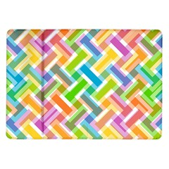 Abstract Pattern Colorful Wallpaper Samsung Galaxy Tab 10 1  P7500 Flip Case