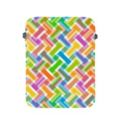 Abstract Pattern Colorful Wallpaper Apple Ipad 2/3/4 Protective Soft Cases