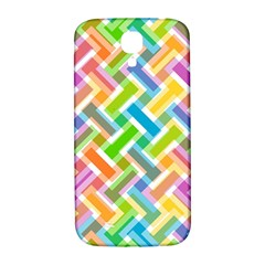 Abstract Pattern Colorful Wallpaper Samsung Galaxy S4 I9500/i9505  Hardshell Back Case