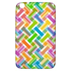 Abstract Pattern Colorful Wallpaper Samsung Galaxy Tab 3 (8 ) T3100 Hardshell Case