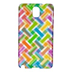Abstract Pattern Colorful Wallpaper Samsung Galaxy Note 3 N9005 Hardshell Case