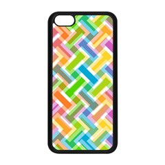 Abstract Pattern Colorful Wallpaper Apple Iphone 5c Seamless Case (black)