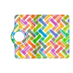 Abstract Pattern Colorful Wallpaper Kindle Fire Hd (2013) Flip 360 Case