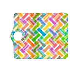 Abstract Pattern Colorful Wallpaper Kindle Fire Hdx 8 9  Flip 360 Case