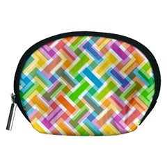 Abstract Pattern Colorful Wallpaper Accessory Pouches (medium)