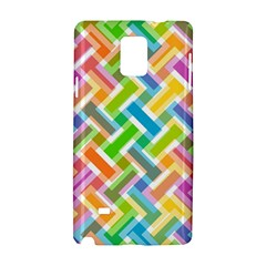 Abstract Pattern Colorful Wallpaper Samsung Galaxy Note 4 Hardshell Case