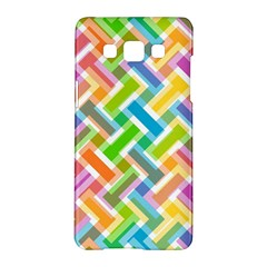 Abstract Pattern Colorful Wallpaper Samsung Galaxy A5 Hardshell Case