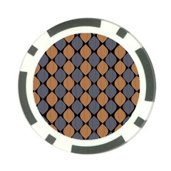 Abstract Seamless Pattern Poker Chip Card Guard
