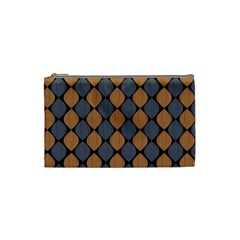 Abstract Seamless Pattern Cosmetic Bag (small)