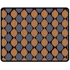 Abstract Seamless Pattern Fleece Blanket (medium)