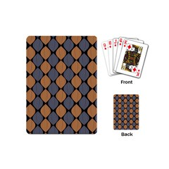 Abstract Seamless Pattern Playing Cards (mini)