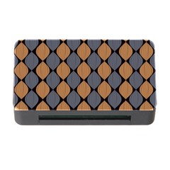 Abstract Seamless Pattern Memory Card Reader With Cf