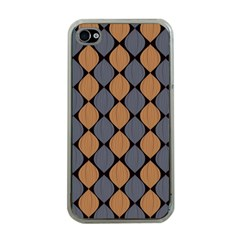 Abstract Seamless Pattern Apple Iphone 4 Case (clear)