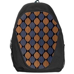 Abstract Seamless Pattern Backpack Bag