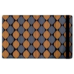 Abstract Seamless Pattern Apple Ipad 3/4 Flip Case