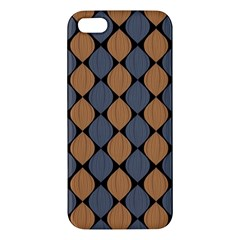 Abstract Seamless Pattern Apple Iphone 5 Premium Hardshell Case