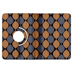 Abstract Seamless Pattern Kindle Fire Hdx Flip 360 Case