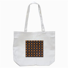 Abstract Seamless Pattern Tote Bag (white)