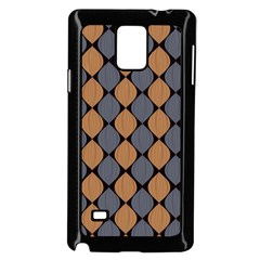 Abstract Seamless Pattern Samsung Galaxy Note 4 Case (black)