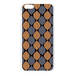 Abstract Seamless Pattern Apple Seamless iPhone 6 Plus/6S Plus Case (Transparent)