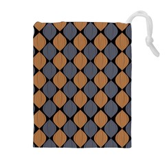 Abstract Seamless Pattern Drawstring Pouches (extra Large)