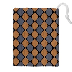 Abstract Seamless Pattern Drawstring Pouches (XXL)