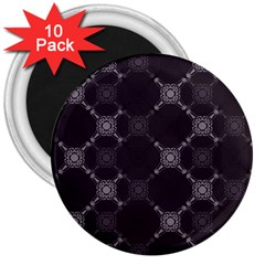 Abstract Seamless Pattern 3  Magnets (10 pack)