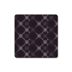Abstract Seamless Pattern Square Magnet