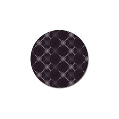Abstract Seamless Pattern Golf Ball Marker