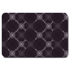 Abstract Seamless Pattern Large Doormat