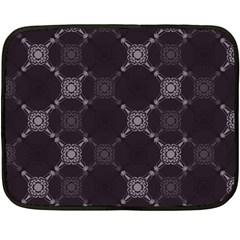 Abstract Seamless Pattern Fleece Blanket (mini)