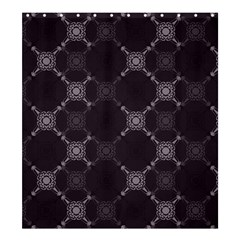 Abstract Seamless Pattern Shower Curtain 66  X 72  (large)