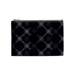 Abstract Seamless Pattern Cosmetic Bag (medium)