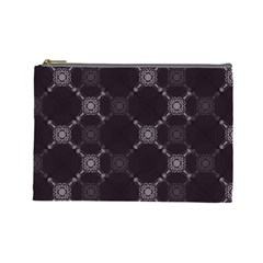 Abstract Seamless Pattern Cosmetic Bag (large)