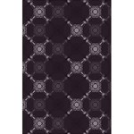 Abstract Seamless Pattern 5.5  x 8.5  Notebooks Back Cover Inside