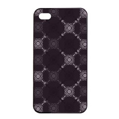 Abstract Seamless Pattern Apple Iphone 4/4s Seamless Case (black)