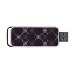 Abstract Seamless Pattern Portable Usb Flash (two Sides)