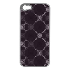 Abstract Seamless Pattern Apple Iphone 5 Case (silver)