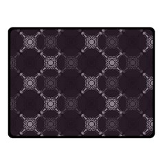 Abstract Seamless Pattern Double Sided Fleece Blanket (small)