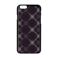 Abstract Seamless Pattern Apple Iphone 6/6s Black Enamel Case