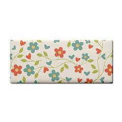 Abstract Vintage Flower Floral Pattern Cosmetic Storage Cases