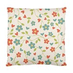 Abstract Vintage Flower Floral Pattern Standard Cushion Case (One Side) Front