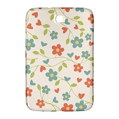 Abstract Vintage Flower Floral Pattern Samsung Galaxy Note 8 0 N5100 Hardshell Case