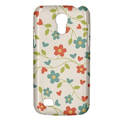 Abstract Vintage Flower Floral Pattern Galaxy S4 Mini