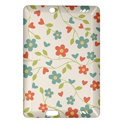 Abstract Vintage Flower Floral Pattern Amazon Kindle Fire Hd (2013) Hardshell Case
