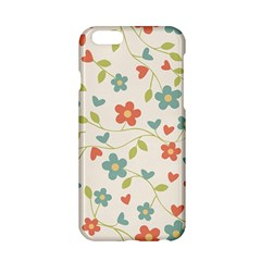 Abstract Vintage Flower Floral Pattern Apple Iphone 6/6s Hardshell Case