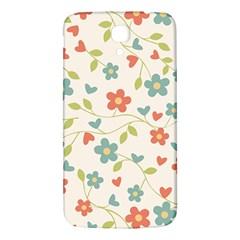 Abstract Vintage Flower Floral Pattern Samsung Galaxy Mega I9200 Hardshell Back Case