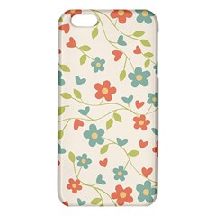 Abstract Vintage Flower Floral Pattern Iphone 6 Plus/6s Plus Tpu Case