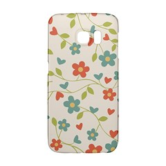 Abstract Vintage Flower Floral Pattern Galaxy S6 Edge