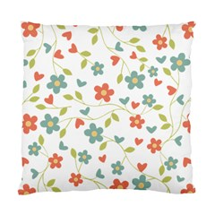 Abstract Vintage Flower Floral Pattern Standard Cushion Case (one Side)